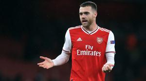 Calum Chambers has featured just twice for Arsenal this season. (Adam Davy/PA)