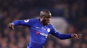 N'Golo Kante, pictured, has rejected the idea of Chelsea being favourites for the Europa League (John Walton/PA)