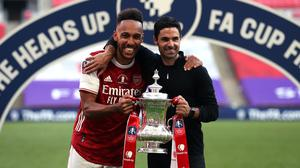 Arsenal manager Mikel Arteta is hoping to keep hold of Pierre-Emerick Aubameyang (Catherine Ivill/PA)