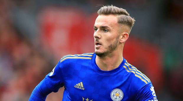 Leicester's James Maddison has been given another chance by England (Peter Byrne/PA)