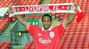 Former Manchester United midfielder Paul Ince signed for arch-rivals Liverpool on this day in 1997 (Dave Kendall/PA)