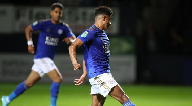 James Justin marked his Leicester debut with a goal against his former club Luton (Nick Potts/PA)