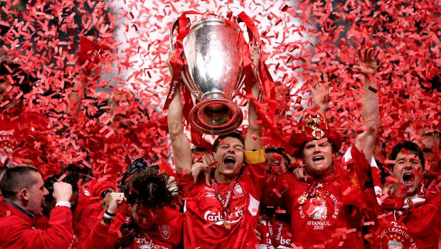 Liverpool won the Champions League in 2005