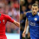 Bruno Fernandes and Islam Slimani are being linked with Manchester United (Mike Egerton and Nigel French/PA)