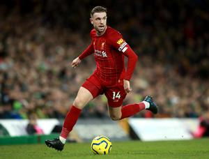 Jordan Henderson has led talks between Premier League captains on possible wage deductions (Adam Davy/PA)