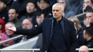 Jose Mourinho says he will be only able to prioritise one of the next two games (Bradley Collyer/PA)