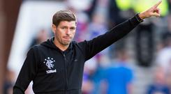 Gerrard has improved Rangers' fortunes since succeeding Pedro Caixinha (Ian Rutherford/PA)
