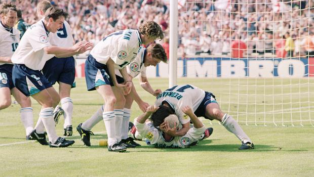 England will play their group matches at Euro 2020, bringing back memories of Euro 96 (Neil Munns/PA).