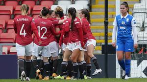 Manchester United moved back to the top of the WSL with victory over Birmingham (Zac Goodwin/PA)