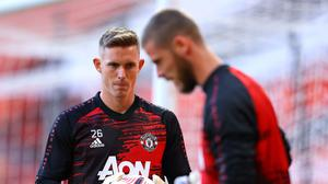 Dean Henderson has his eyes on David De Gea's starting role (Richard Heathcote/PA)