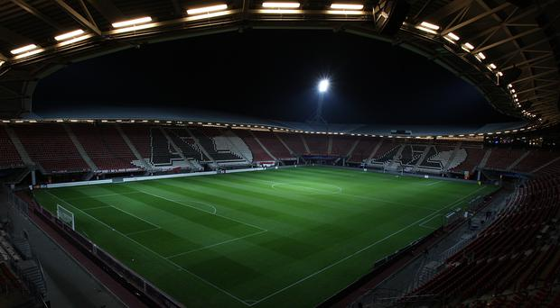 United will play at the AFAS Stadion on Thursday (Nick Potts/PA)