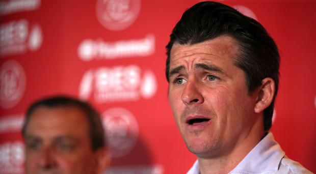 Joey Barton was allegedly involved in an incident in the tunnel at Barnsley (Nick Potts/PA)