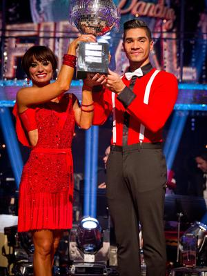 Louis Smith was a Strictly winner in 2012