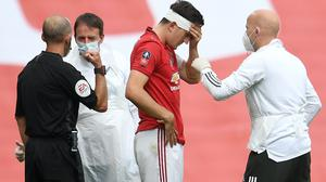 Teams will be able to make two concussion substitutes in the FA Cup from January (Andy Rain/NMC Pool/PA)