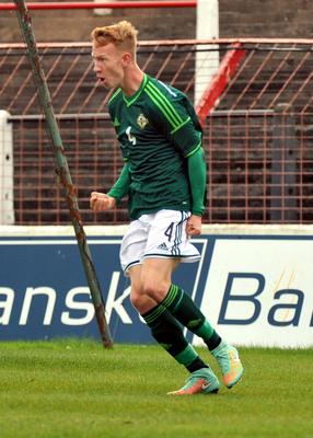 Michael Newberry has been capped by Northern Ireland at Under 19 level.