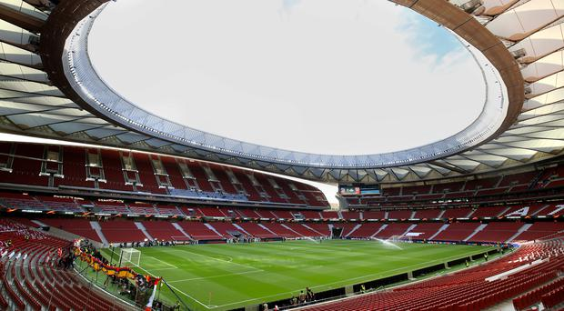 Liverpool have been given 16,613 tickets at the Estadio Metropolitano (Adam Davy/PA)