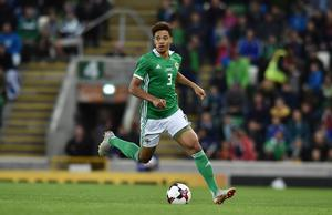 Lewis now has 12 caps for Northern Ireland having made the left-back spot his own.