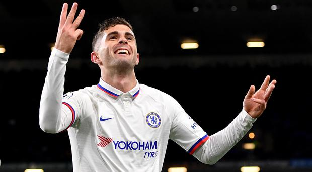 Christian Pulisic admitted he felt a sense of relief after breaking his Chelsea duck (Anthony Devlin/PA)