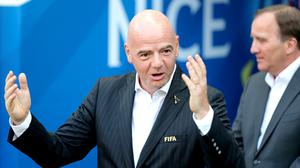 Gianni Infantino does not know yet when the new-look Club World Cup will take place (Richard Sellers/PA)