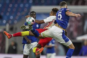 RB Leipzig moved back to the top of the Bundesliga (Michael Sohn/AP)