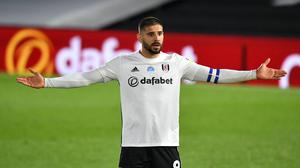 Aleksandar Mitrovic, pictured, remains a doubt for Fulham's Championship play-off final against Brentford (Dominic Lipinski/PA)