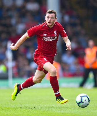 Liverpool and Scotland full-back Andy Robertson (Anthony Devlin/PA)