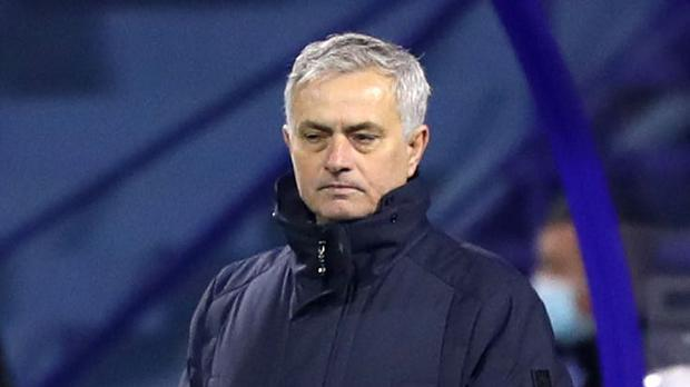 Tottenham boss Jose Mourinho saw his side knocked out of the Europa Exit by Dinamo Zagreb (Luka Stanzl/PA)