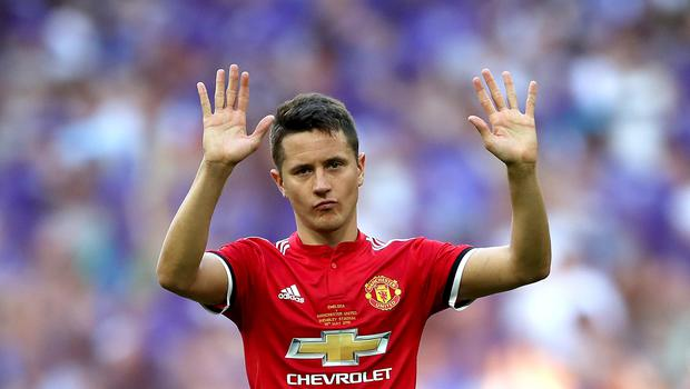Ander Herrera will concentrate on the positives of Manchester United's season