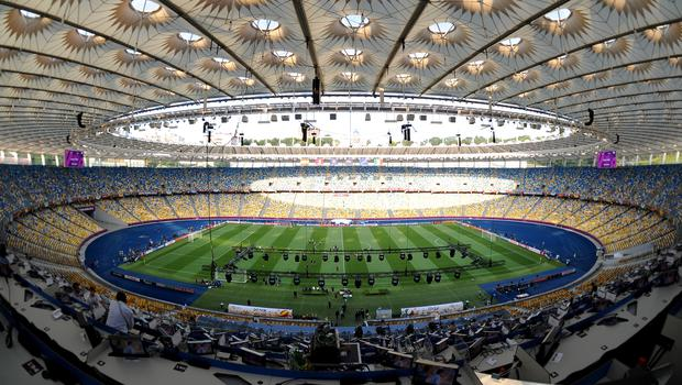 The NSC Olimpiyskiy Stadium will host the Champions League final (Tony Marshall/EMPICS)