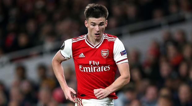 Kieran Tierney will not be involved with the Scotland squad (Nigel French/PA)