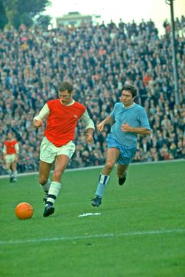 Starring for Arsenal in 1967