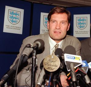 Glenn Hoddle took the England job in 1996 (Tony Harris/PA)