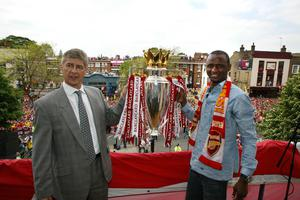 Patrick Vieira was Arsene Wenger's midfield enforcer (PA)