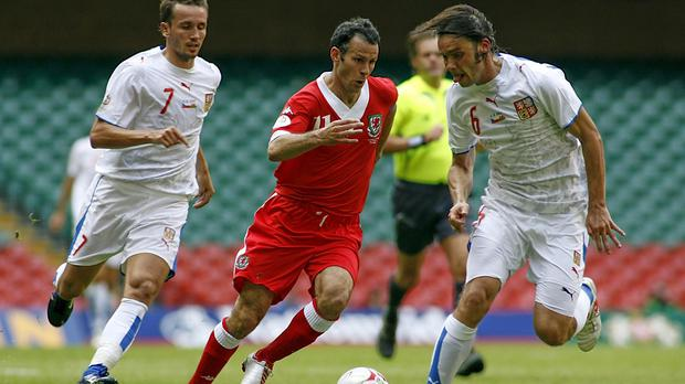 Ryan Giggs' final Wales appearance came against the Czech Republic in 2007 (Ian Smith/PA)