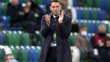 Northern Ireland manager Ian Baraclough (Liam McBurney/PA)