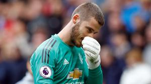 David De Gea's early blunder at Everton put Manchester United on the back foot (Martin Rickett/PA)