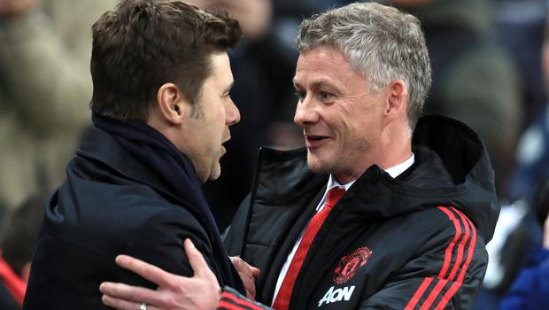 Mauricio Pochettino (left) and Ole Gunnar Solskjaer (Mike Egerton/PA)