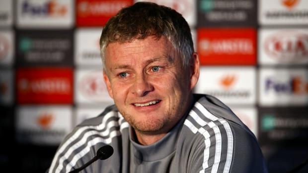 Ole Gunnar Solskjaer is feeling no pressure (Tim Goode/PA)