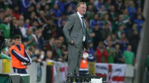 Michael O'Neill made history with Northern Ireland earlier this year