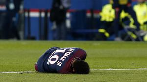 Neymar's father claims he could be out for eight weeks