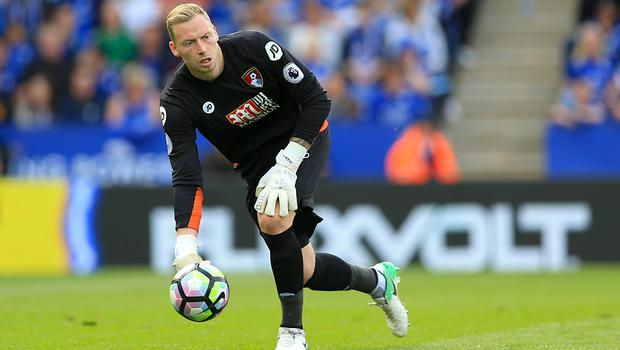 Ryan Allsop, pictured in action for Bournemouth, has been praised for challenging and reporting homophobic abuse (Nigel French/PA)