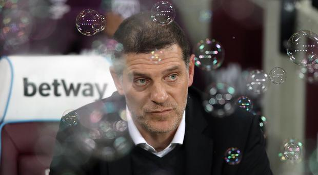 Slaven Bilic returns to the London Stadium for the first time since being sacked as West Ham manager (John Walton/PA)