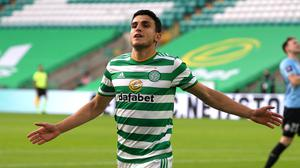 Mohamed Elyounoussi was the match-winner for Celtic (Andrew Milligan/PA)