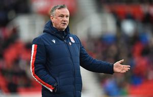 Wise head: Michael O'Neill isn't wasting time while football is on a break