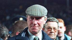 Former Republic of Ireland manager Jack Charlton died last week at the age of 85 (PA)