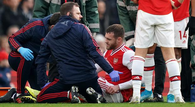 Calum Chambers could be out for up to nine months (John Walton/PA)