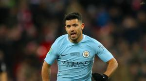 Sergio Aguero has been ruled out of Manchester City's trip to Liverpool with a knee injury
