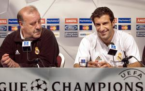 Luis Figo was the main transfer target of new Real Madrid president Florentino Perez (Ben Curtis/PA)