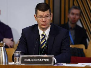 Neil Doncaster is chief executive of the SPFL (Andrew Cowan/Scottish Parliament)