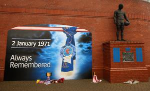 Rangers and Celtic will mark the 50th anniversary of the Ibrox disaster when they meet on January 2 (Lynne Cameron/PA)